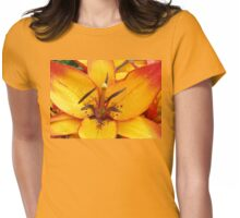 Vibrant Lily Womens Fitted T-Shirt