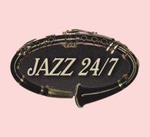 Jazz 24/7 Baby Tee