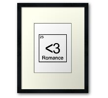 The Element of Romance Framed Print