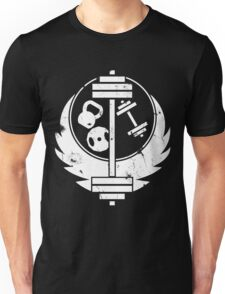 Brotherhood of steel(gym edition, white and aged) Unisex T-Shirt