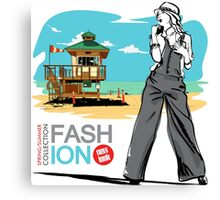 Fashion Icon Canvas Print