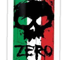 Zero Italian Sticker