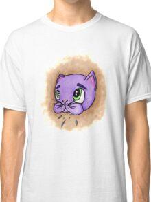 Guilty Cat Brown Graphic T-Shirt Classic T-Shirt