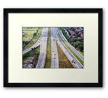 Florida 821 Toll Framed Print