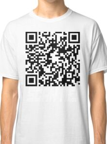 prank scan white fill Classic T-Shirt