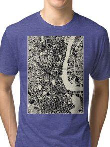 LONDON MAP Tri-blend T-Shirt