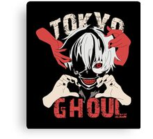 Tokyo Ghoul (Ken Kaneki), Anime Canvas Print