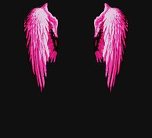 Angel wings Pink edition Womens Fitted T-Shirt