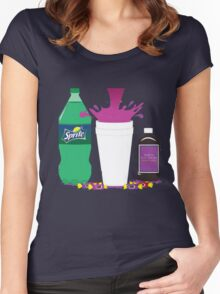 Dirty Sprite Women's Fitted Scoop T-Shirt