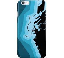 LIVORNO COAST MAP iPhone Case/Skin