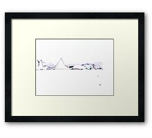 All I need is the air that I breathe Framed Print