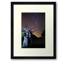 The Laund Oak Tree and The Milky Way 5863 Framed Print