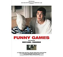 Funny Games Poster Photographic Print