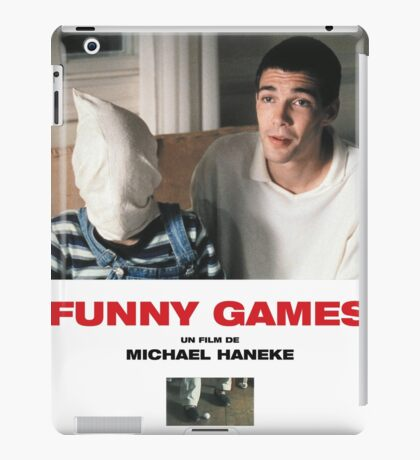 Funny Games Poster iPad Case/Skin