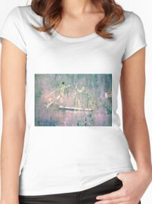 17th Century Ship Women's Fitted Scoop T-Shirt
