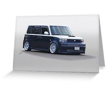 Scion Custom Box Car 1 Greeting Card
