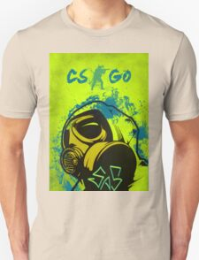 CS:GO SAS CT Ink Effect Painting T-Shirt