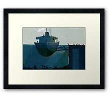 embarkation Framed Print