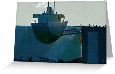 embarkation by Nikolay Semyonov
