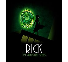 Rick the animated series Photographic Print
