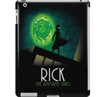 Rick the animated series iPad Case/Skin