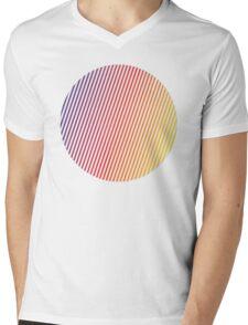 vaporwave sphere Mens V-Neck T-Shirt