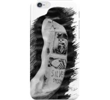 Harry Styles' tattoos iPhone Case/Skin