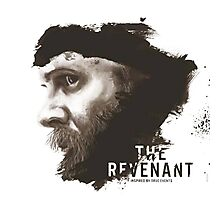 The Revenant Movie logo face Tom Hardy Photographic Print