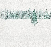 Snow Pines by Andrew Bret Wallis