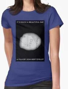 It's Such A Beautiful Day Womens Fitted T-Shirt