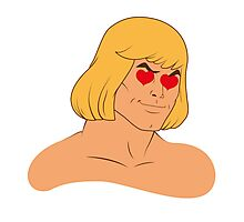 He-Man in love Photographic Print