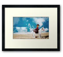 Untitled (cowboy) Framed Print