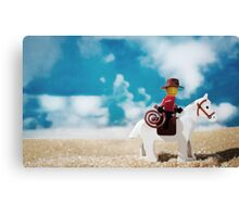 Untitled (cowboy) Canvas Print