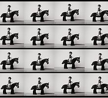 Horse In Motion by Mike Stimpson