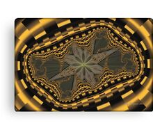 Lost Star and Fractal Snakes... Canvas Print