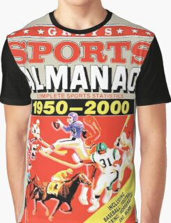 Grays Sports Almanac - Back to the Future Graphic T-Shirt