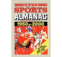 Grays Sports Almanac - Back to the Future Photographic Print