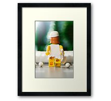 Tennis Girl Framed Print