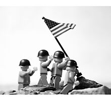 Iwo Jima Photographic Print