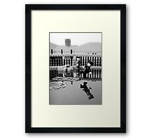 Behind the Gare Saint Lazare Framed Print