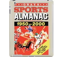 Grays Sports Almanac - Back to the Future iPad Case/Skin