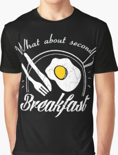 What about second breakfast? Graphic T-Shirt
