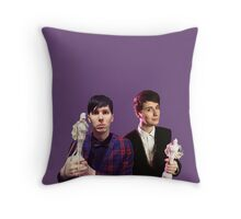 Dan & Phil   Brit Awards 2015 Throw Pillow