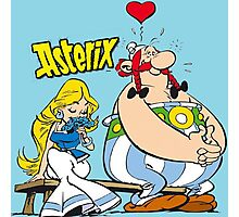 asterix Photographic Print