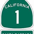 PCH - CA Highway 1 - Santa Barbara by IntWanderer
