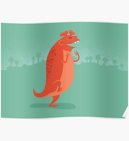 Estemmenosuchus is Ecstatic Poster