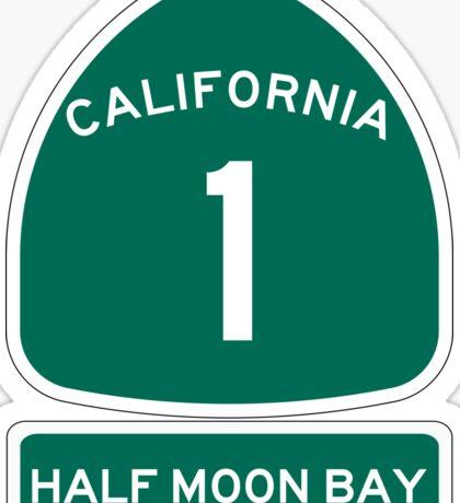PCH - CA Highway 1 - Half Moon Bay Sticker
