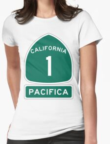 PCH - CA Highway 1 - Pacifica Womens Fitted T-Shirt