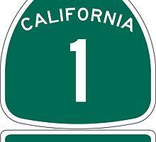 PCH - CA Highway 1 - Mendocino by IntWanderer