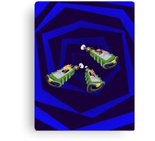 Day of the Tentacle - Time Machine  Canvas Print